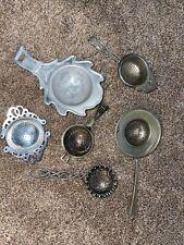 Vintage Lot - Tea Strainer - SIX ANTIQUES