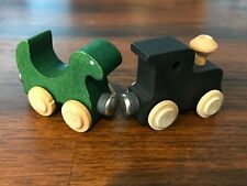 Lot Of 2 Nametrains Maple Landmark Woodcraft Compatible With Thomas Trains