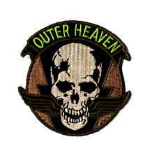 Metal Gear Solid Outer Heaven Hook and Loop Neon Camouflage OCP Patches