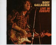 CD RORY GALLAGHERlive in europaEX+  (B1979)