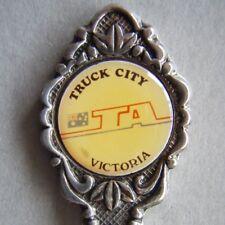 Truck City IA Australia Victoria EPA1 Souvenir Spoon Teaspoon (T98)