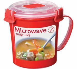 SISTEMA 656ml Microwave Soup Mug - Currys