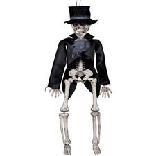 Gothic Skelett Hängefigur 45 cm Tod Horror Halloween Grusel Party Deko 74549