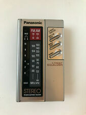 VINTAGE PANASONIC RF-434 PERSONAL AM FM STEREO RADIO 1980's VERY GOOD CONDITION