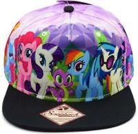 My Little Pony Brony Friendship Is Magic Rainbow Dash Sublimated Snapback Hat