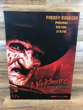 Factory Freddy Krueger Motion Statue Nightmare on Elm Street New in Box Limited