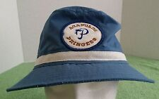 Acapulco Princess Golf Course Hotel Hat Size L Patch Fishing Boating Bucket Blue