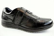 Bugatti Herren Halbschuhe schwarz Leder in der Gr.41