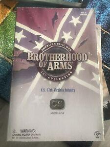 C.S 57th Virginia Infantry Brotherhood Of Arms 1/6 American Civil War Sideshow