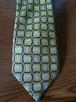 Pfizer yellow tie 58 inches long 3.5 inches wide