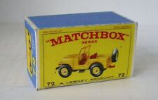 Repro Box Matchbox 1:75 Nr.72 Standard Jeep