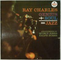 Ray Charles Genius + Soul = Jazz Impulse! SNY 2 JAPAN VINYL LP JAZZ