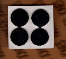 ROTC JROTC CADET 1LT First Lieutenant 2 dots silver rank uniform badge set