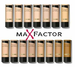 MAX FACTOR LASTING PERFORMANCE FOUNDATION - Please Choose Shade - NEW