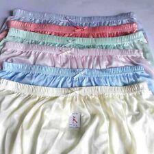 Soft Large Vintage Nylon Satin 6pcs sizeLLL Sissy Panties Gusset Sheer Underwear