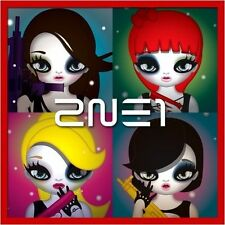 2NE1 2nd Mini Album CD+Photo Book K-POP SEALED 내가 제일 잘 나가 Lonely Don't Cry