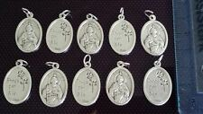10x St Jude charms Catholic Saint charm Vatican City medal medallion Italy