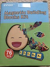 Innoo Magnetic Building Blocks Kit, 76 Pieces