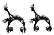 Dual Pivot Road Bike Brake Calipers Campagnolo Veloce Front & Rear Black