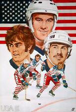 Canada Cup 1976 Hockey Tournament TEAM USA 1976 Vintage Original Team POSTER