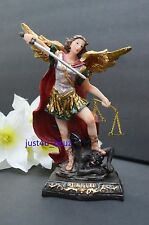 New San Miguel Arcangel Archangel St. Michael Angel Statue Figurine Catholic 8""