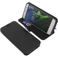 Tasche für Acer Liquid Z6E Book-Style Schutz Hülle Handytasche Buch Schwarz