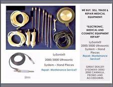 Lysonix Liposuction Hand Piece Medical Equipment Evaluation Amp Repair Service