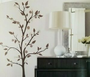 """47 RoomMates  XL Tree (68.6"""" x 38"""") Wall Decals NIP"""
