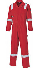 Dickies Cotton Coverall, Reflective Hi Viz Strips, Boiler Suit, Overall WD2279