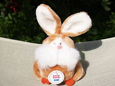 "RARE VINTAGE GUND - FUNNY BUNNY - RABBIT - #3400 - 7"" - 1980 - NEW - ALL TAGS"
