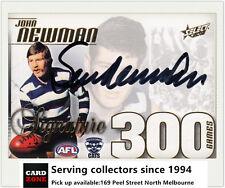 2012 Select AFL Champions Signature 300 Game Case Card Cc44s Sam Newman-rare