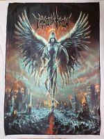 IMMOLATION - Atonement FLAG Heavy thrash death METAL cloth poster