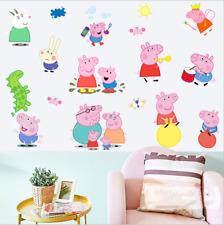 Kids Children Decal WALL STICKER Vinyl Mural Kids Room Decor UK zh2