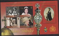 ST HELENA: 2002 Golden Jubilee m/sheet  SGMS851 unm. mint