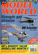 FREE PLAN DRAWING - SONAS 40 - 56 inch Span Drawing - RC MODEL WORLD August 2002