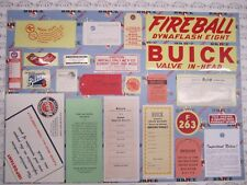 1953 Buick Special Engine & Interior Decal/Tag Kit | Set of 22