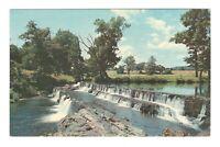 Gleneri Falls Gleneri New York Vintage Postcard AF73