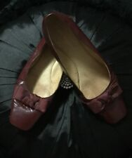 GORGEOUS AUTHENTIC HUSH PUPPIES DESIGNER WOMENS FLAT SHOES PAID $140