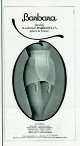 publicité Advertising 0621 1964  Barbara gaine Barbarella Splendor 1 sous veteme