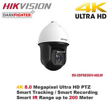 4K 8MP Hikvision 36X Outdoor Smart IR PTZ Camera/Smart Tracking/Samrt Detection