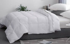 White 100% Cotton Comforter All Season Twin/Queen/King Size Inset Duvets Quilt