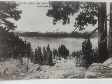 Looking Across Lake Tahoe, California Vintage Postcard