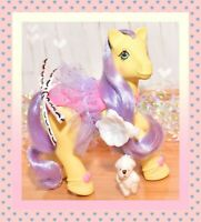 ❤️My Little Pony MLP G1 Vtg Twinkle Dancer Sweetsteps Ballerina TUTU Barrette❤️