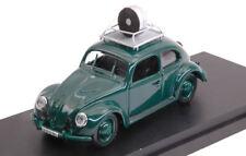 Volkswagen VW Maggiolino Wiesbaden Police Speed Control 1957 1:43 Model RIO