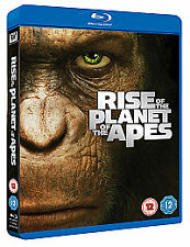 Rise Of The Planet Of The Apes (Blu-ray, 2012) Region Free Brand new and sealed