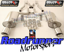 Milltek Audi S4 B6 4.2 V8 Cat Back Exhaust Inox Non Resonated Jet SSXAU038