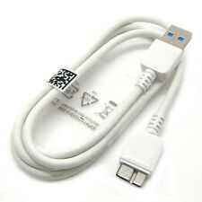 White Micro USB 3.0 Charger Data Sync Cable for Samsung Galaxy S5 i9600 Note 3