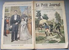 Le petit journal 1897 N°346 Incidentà la frontière allemande - Mariage de géant