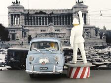BRUMM - FIAT 600 D CIRCULATION PLACE VENEZIA ROME 1960