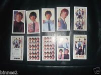 THE BEATLES -THE MILLION SELLERS EP  WARUS TRADING CARDS FULL SET OF TEN MINT